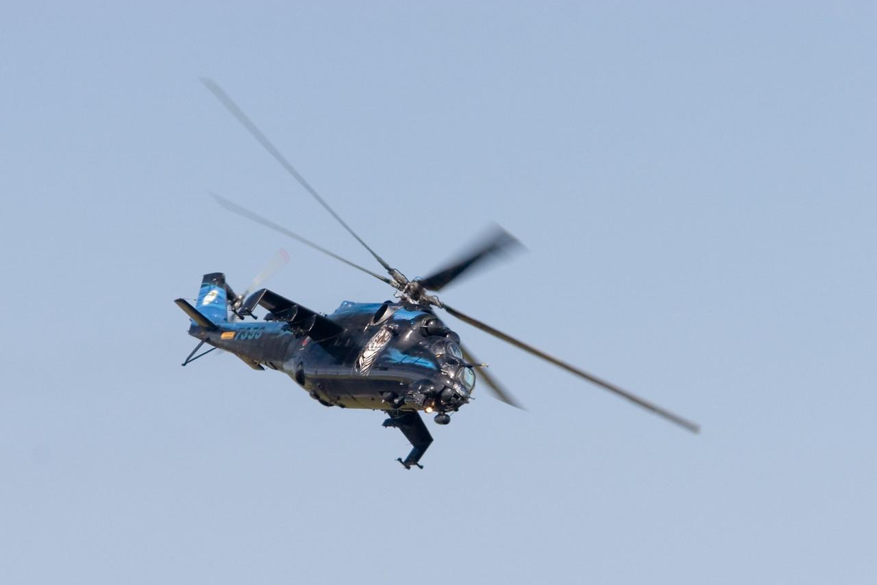 MI-24 Hind. Czech Air Force. 7353.