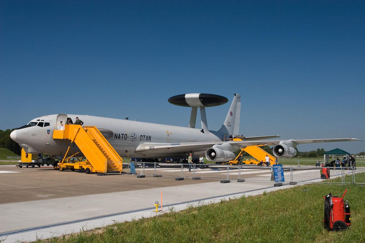 Boeing E-3A AWACS. NATO.
