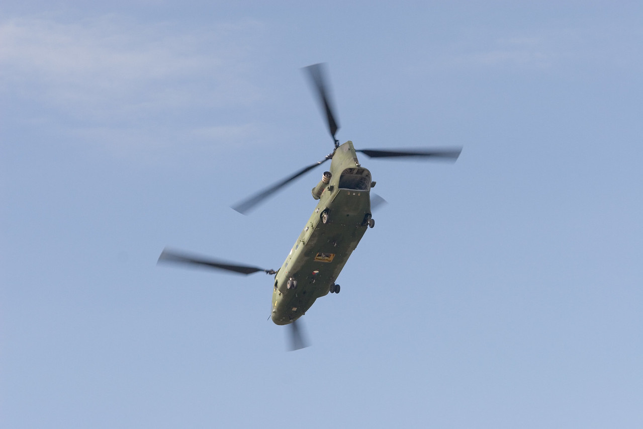 CH-47 Chinook. Royal Netherlands Air Force.
