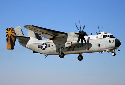 "USA - Navy Grumman C-2C Greyhound (G-123) 	El Centro - NAF (NJK / KNJK) USA - California, November 20, 2014 Reg: 162150  Cn: 30 ""Password 20"" from VRC-30 ""Providers"" NAS North Island practicing in the pattern at El Centro."