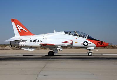 USA - Marines Boeing T-45C Goshawk  El Centro - NAF (NJK / KNJK) USA - California, November 20, 2014 Reg: 165479 Code: A-136