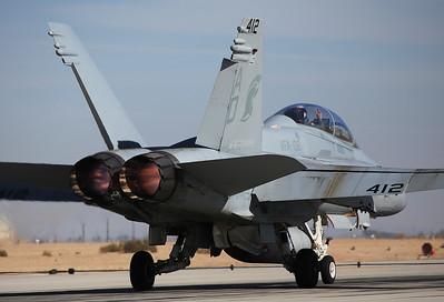 USA - Navy McDonnell Douglas F/A-18D Hornet El Centro - NAF (NJK / KNJK) USA - California, November 20, 2014 Reg: 163501 Code: AD-412 Cn: 0744/D021