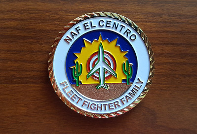 Presented by the CO Commanding Officer of NAF El Centro, thank you very much!