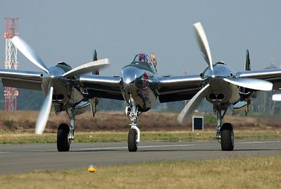 Red Bull P-38 Lightning N25Y from Austria.