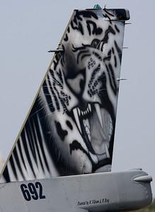 Norwegian Tiger Viper tail.