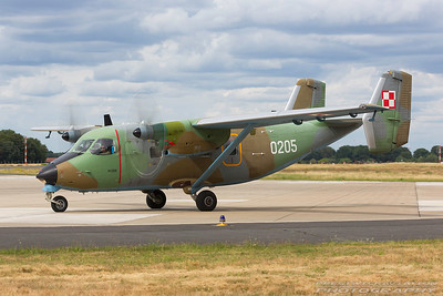 0205. PZL - M-28 Bryza. Polish Air Force. Geilenkirchen. 300617.