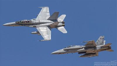 164961. McDonnell-Douglas FA-18D Hornet. US Marines. El Centro. 230318.
