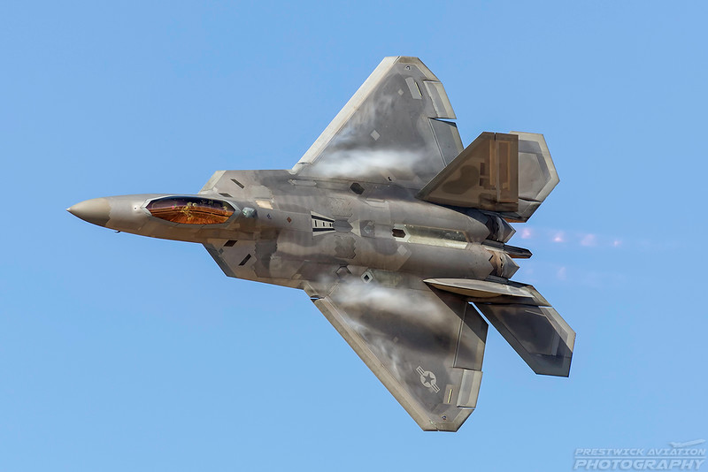 07-4131. Lockheed Martin F-22A Raptor. USAF. Lancaster Fox Field. 250318.