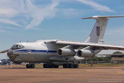 UR-78820. Ilyushin Il-76MD. Ukrainian Air Force. Fairford. 170717.