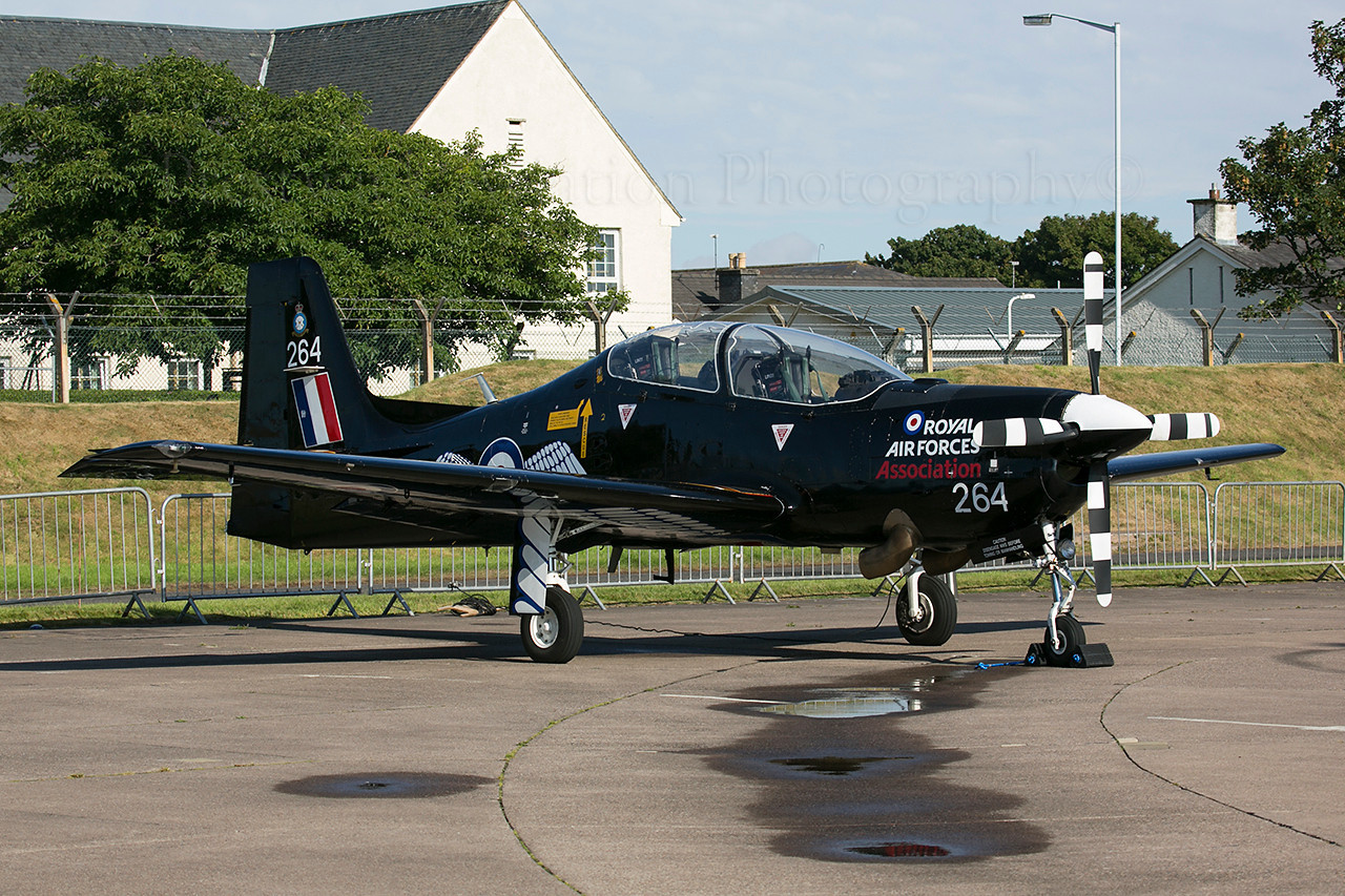 ZF264. Short S-312 Tucano T1. RAF. Leuchars. 070913.