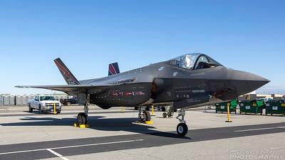 AF-01. Lockheed Martin F-35A Lightning II. USAF. Lancaster Fox Field. 250318.