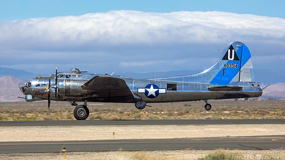 N9323Z/483514. Boeing B-17G Flying Fortress. CAF. Lancaster Fox Field. 250318.