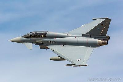 30+59. Eurofighter EF-2000 Typhoon. German Air Force. Fairford. 170717.