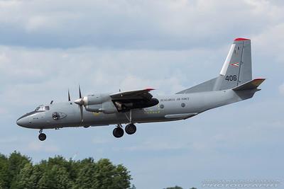 406. Antonov An-26. Hungarian Air Force. Geilenkirchen. 300617.