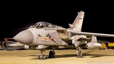 ZA560. Panavia Tornado GR4. RAF. Coningsby. 211017.
