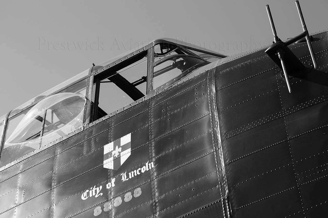 PA474. Avro 683 Lancaster B1. RAF. Leuchars. 070913.