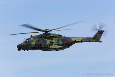 NH-218. NH Industries NH-90 TTH. Finnish Air Force. Fairford. 170717.