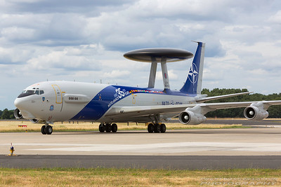 LX-N90450. Boeing E-3A Sentry. NATO. Geilenkirchen. 300617.