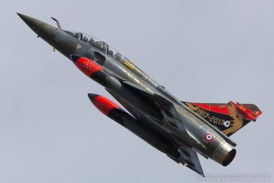 618/3-XC. Dassault Mirage 2000D. French Air Force. Fairford. 170717.