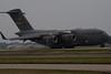 C-17 Globemaster landing.