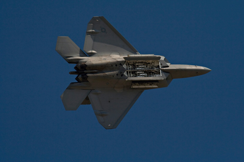 F-22 Raptor Stealth Figher.