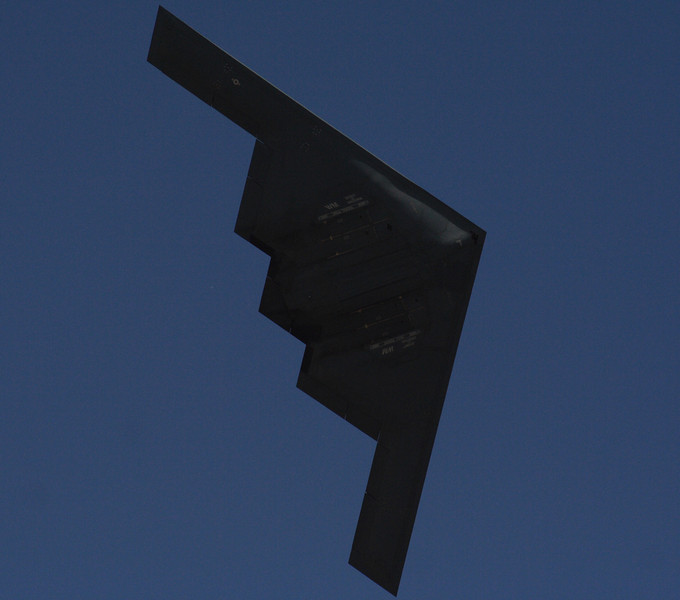 B-2 Spirit Stealth Bomber.