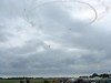 Start of another daily airshow.