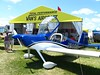 RV-14 at Van's tent. 9445 RV's flying! On to 10,000 this year?
