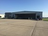 Nice large hanger at Ankeny and it had about 7 airplanes inside, including a couple of jets.