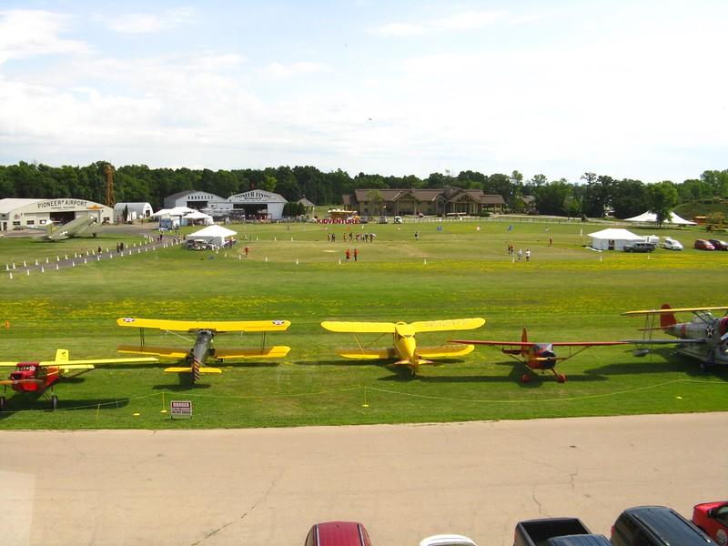 EAA Air Academy Lodge across the field.