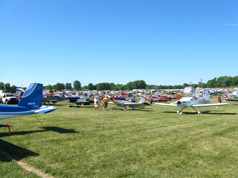 This is just one small part of the homebuilt parking area.