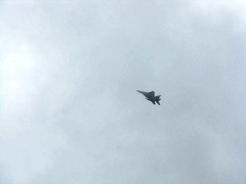 F-15 fighter jet.