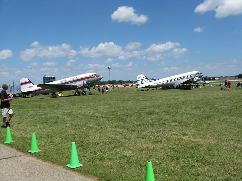 Flabob Express and another DC-3.