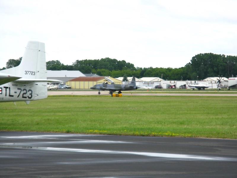 T-33 jet.