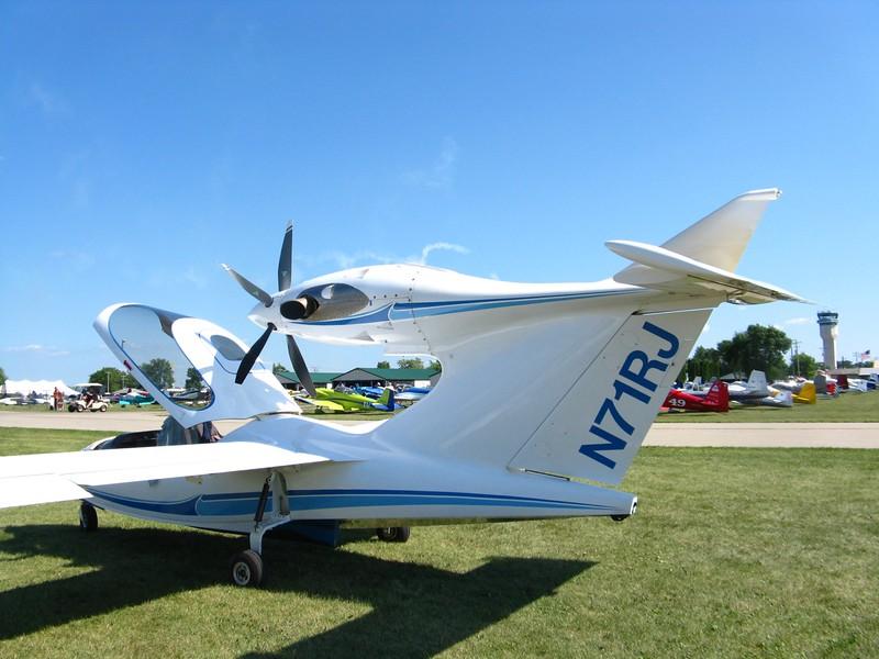 Wild looking turboprop Seawind.