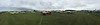 Homebuilt parking panorama shot.