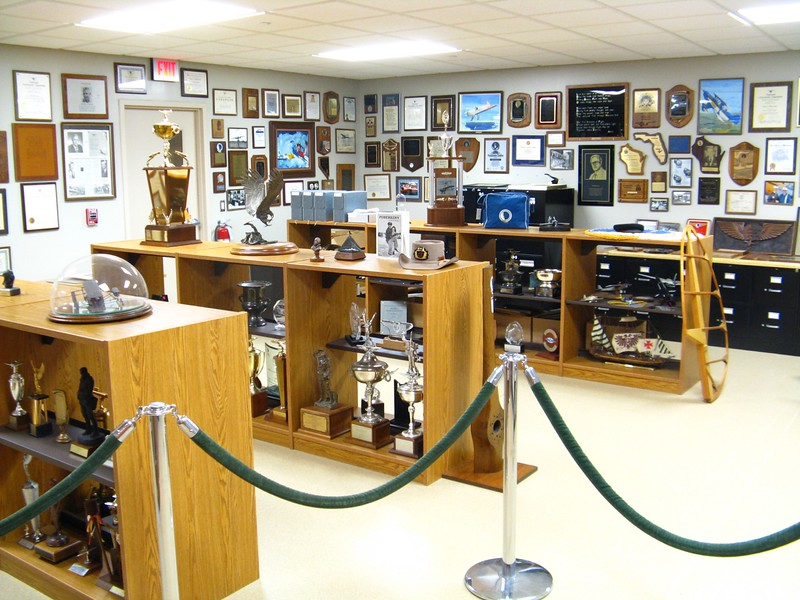 This wing of the museum had all of the early EAA office memorabilia and office mock up. Quite an amazing legacy from Paul Poberezny.