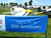 The big RV-6 30th anniversary had a special parking spot for RV-6's.