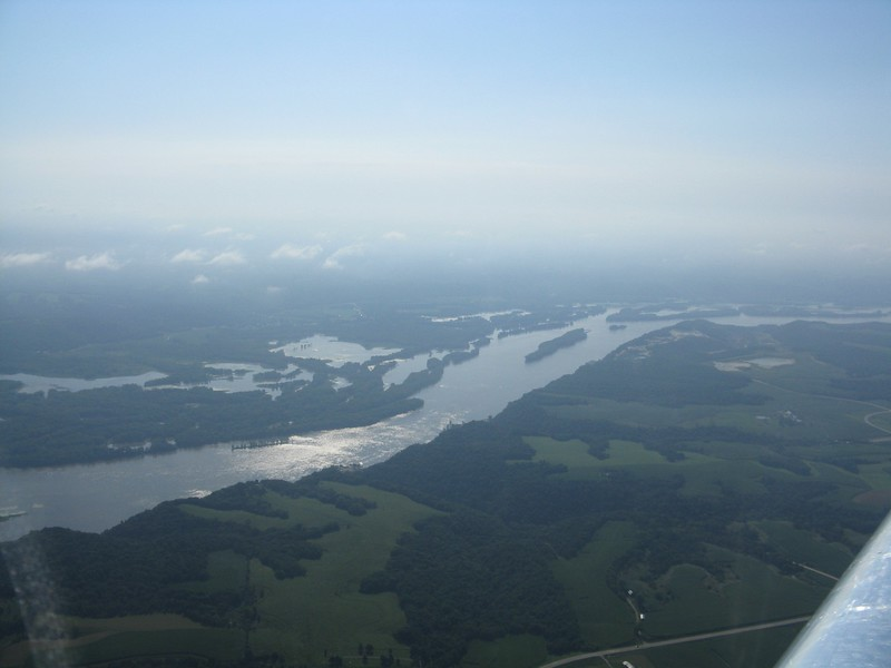 The Mississippi River.