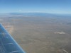Looking north towards Santa Fe, NM.