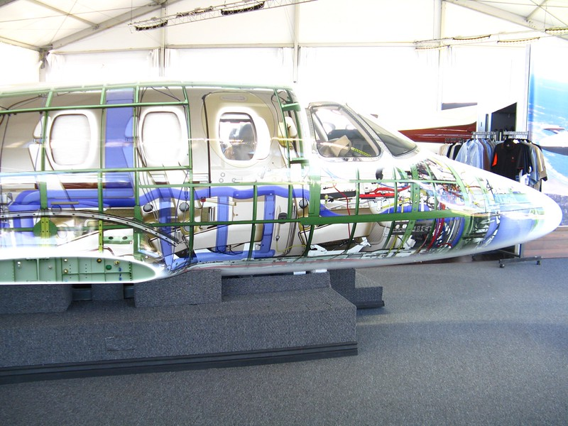 See through paint scheme on this mock up.
