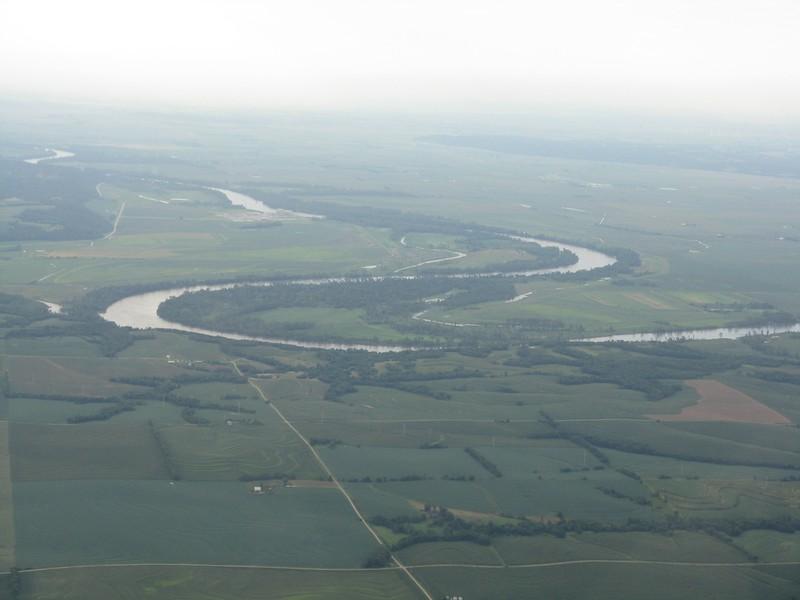 We cross the Missouri River.