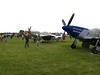 Over to the Warbirds HQ. Lots of P-51's!