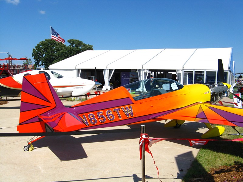 Nice paint job on this Extra 300.