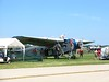The EAA Ford Trimotor was busy all day flying folks on rides.