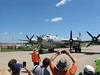 The B-29 flew in for the day and I didn't see it the rest of the week. They had various large aircraft come into the center of the show each day.