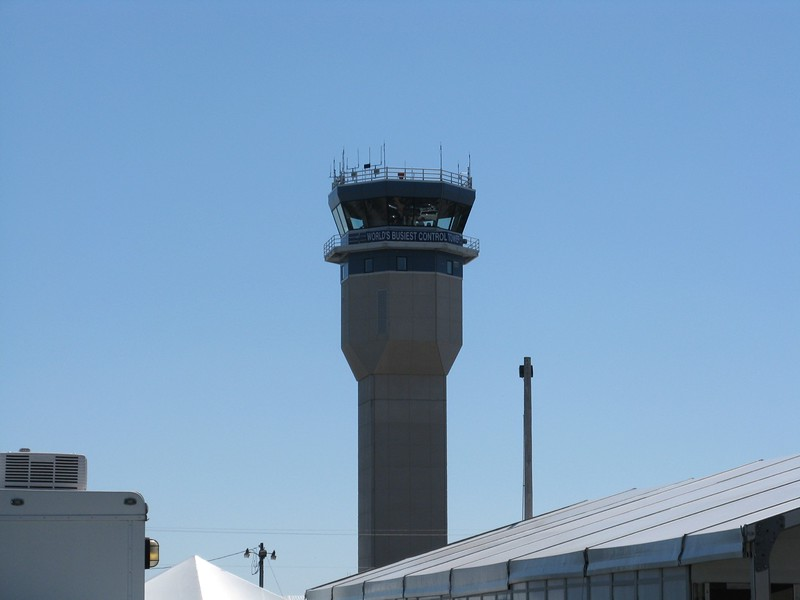 World's Busiest Control Tower (at least this week).