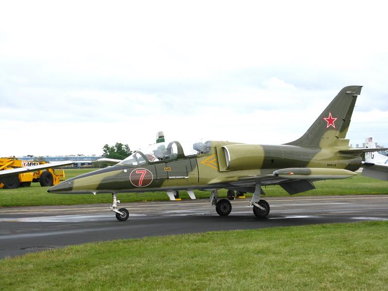 Aero L-39 jet.