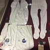 50th Anniversary of Apollo display had some interesting items. These are Thomas Stafford's jump suit and long underwear.