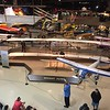 The museum has quite an assortment of airplanes including reproductions of the Wright Flyer and Spirit of St. Louis.